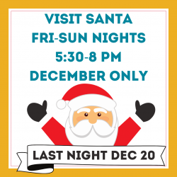 Holiday Lights Website Santa Hours 2020 SQUARE